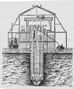 bridge-foundation-caisson-science-photo-library